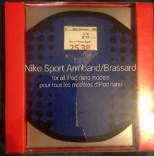 NEW Nike Sport iPod Nano Armband/Brassard~BLUE $29 Retail
