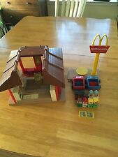 Vintage FISHER PRICE MCDONALD'S RESTAURANT and ACCESSORIES, Nice