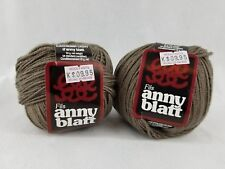 Anny Blatt Cachemir Light Yarn Brown 3729 Lot of 2 Discontinued