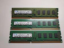 Samsung 2gb 1Rx8 Pc3-10600U-09-10-A0 DDR3 Ram Stick Fast 2gb