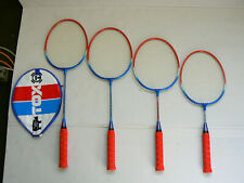 Badmintonracket TOX Twingo Aluminium, 4 Schaftlängen, Schulsport, Vereinsport