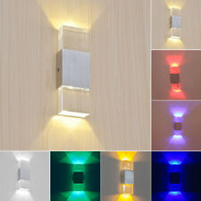 Dimmable/N 2W Crystal LED Wall Mount Light Fixture Modern Decor Lamp Living Room
