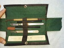Antique medical surgical equipment packet