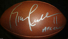 RICKY PROEHL SIGNED NFL FOOTBALL ST LOUIS RAMS NFC CHAMPS INSCR PANTHERS COA J1