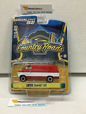 Greenlight * Country Roads Series 13 * 1976 Chevrolet G20 Van * RED/WHITE * F34