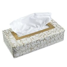 Crackle Design Handcrafted Eco-Friendly Napkin Paper Box Tissue Holder Box