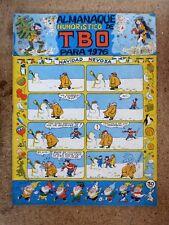 TBO Almanaque Humoristico para 1976