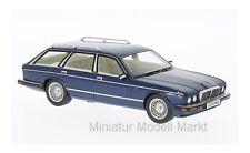 #47040 neo jaguar xj40 Shooting Brake-metálico-azul oscuro-RHD - 1989 - 1:43