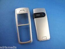 ORIGINALE Nokia 6230i 6230 Custodia Cellulare FRONT COVER POSTERIORE ARGENTO COVER POSTERIORE SILVER