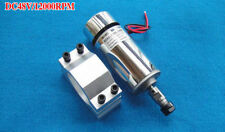 300W Air Cooled Spindle Motor Engraving Milling DC 12V-48V 12000rpm 3.175mm