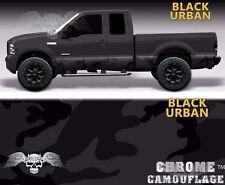 Rocker Wrap Black Woodland Camo Urban Camo Truck Side Graphics Truck Accessories