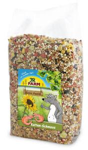 JR Farm Ratten Schmaus 2,5 Kg / Ratte Nager Futter /  Einmalig Versandkosten