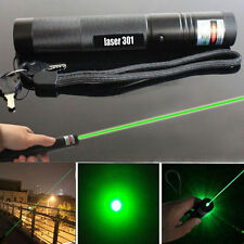 Military Powerful 5miles Green 532NM Laser Pointer Pen Lazer Light Visible Beam