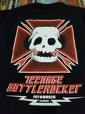Teenage Bottlerocket Large New Birdhouse Rip T Shirt Screeching Weasel Nofx