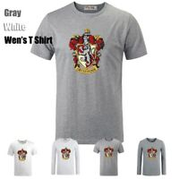 Harry Potter Gryffindor Lion College Design Unisex T-Shirts Graphic Tee Tops
