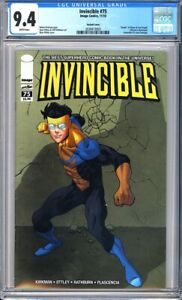 """Invincible #75 CGC 9.4 ~Variant Cover~""""Death"""" of Oliver & Lord Argall!L@@K!"""