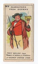 Hunt Cropp Vedast Characters From Dickens Trade Card #10 Tony Weller