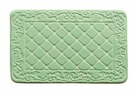 "Bath Mat/Rugs Luxurious Anti-slip 31""x19"" Memory Foam Bath Rug, Spring Green"