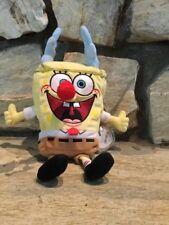 Ty Beanie Babies Beanbag Plush Doll SpongeBob SquarePants Sleigh Ride Excellent