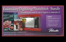 PE Design Plus Embroidery Digitizing / PhotoStitch Bundle *Scan it, digitize it,