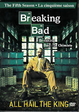 Breaking Bad The Fifth 5 Season (DVD, 2013, 3-Disc Set, Canadian, Widescreen)