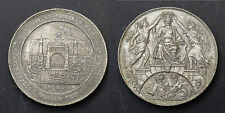 Médaille Exposition Universelle d'Anvers. 1885. Etain