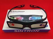[ sintron ] 2x nuovi 3D READY DLP-LINK 96hz - 144Hz Occhiali attivi per proiettori