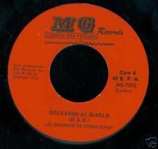 LOS DEMONIOS DE COROCOCHAY Mini Mini / Golearon Al Diablo CUMBIA 45