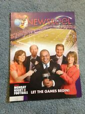Disney Newsreel Monday Night Football Let the Games Begin August 18, 2009 New