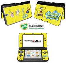 Spongebob SquarePants Vinyl Skin Sticker for Nintendo 3DS XL