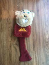 University of Minnesota Golden Gophers Mascot Golf Headcover