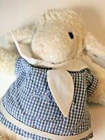 Steiff Musical Sleep Well Lamb Hanging Crib Baby Toy Lullaby Sheep Germany Knopf