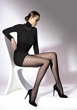 Elegant Unique Black Polka Dot Pattern Elegant Women Tights Pantyhose Effect T20