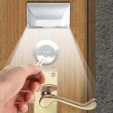 PIR Wireless Auto Infrared IR Sensor Motion Detector Keyhole 4 LED Light lamp KJ