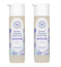 2x The Honest Company Shampoo & Body Wash 10 fl oz Lavender Baby Body Wash