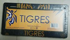 PLASTIC LICENSE PLATE FRAME 2 PIECE TIGRES UANL OFFICIAL PRODUCT