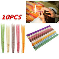 2-20PCS Earwax Candles Wax Hollow Blend Cones Beeswax Ear Cleaning Hearing Aids
