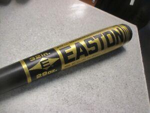 "Easton B9 3229 32"" 29 oz Aluminum Baseball Bat 2 3/4"" Dia. Natural Pro Balance"
