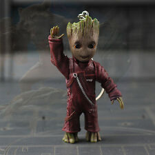 Say Hello Little Baby Groot Guardians of the Galaxy vol.2 Key Ring Figurine