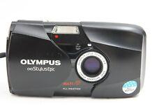 BLACK OLYMPUS MJU II STYLUS EPIC 35/2.8 35MM F2.8 CAMERA CHECKED W.FILM
