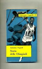 Antonino Fugardi # STORIA DELLE OLIMPIADI # Cappelli 1958