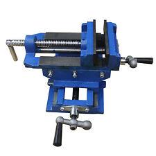 "3"" Cross Slide Vise Drill Press Metal Milling 2 Way X-Y Heavy Duty Clamp Machine"