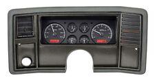 1978-88 El Camino Monte Carlo Dakota Digtial Black Alloy & Red VHX Gauge Kit