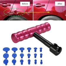 New Car T-Bar Hammer Puller Lifter Paintless Dent Pit Repair Tool + 18pcs Tabs