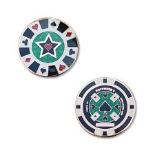 Cachin in Poker Chip Geocoin For Geocaching