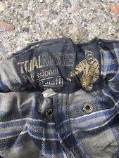"Vintage Belstaff Trialmaster Sammy Miller Wax Trousers 78cm / 31"" for jacket"