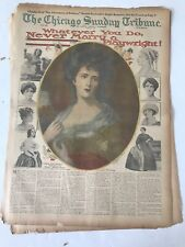 April 19 1914 Chicago Tribune Part 5 COLOR Section NEVER MARRY A PLAYWRIGHT