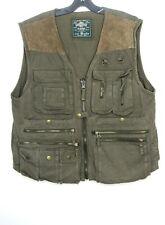 Wilker Industries INC Workerman AAF ARMY AIR FORCES Shooting Combat Vest Coat XL