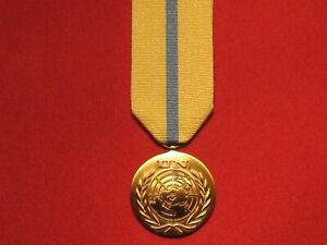 FULL SIZE UNITED NATIONS UN IRAQ KUWAIT MEDAL WITH RIBBON IN MINT CONDITION