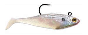 "Storm WildEye Swim Shad 2"" Fishing Lure, 1/8 Oz, Pearl, Pack of 3"